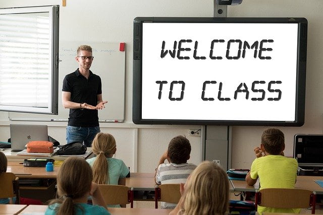 Niños clase inglés - Actividad extraescolar
