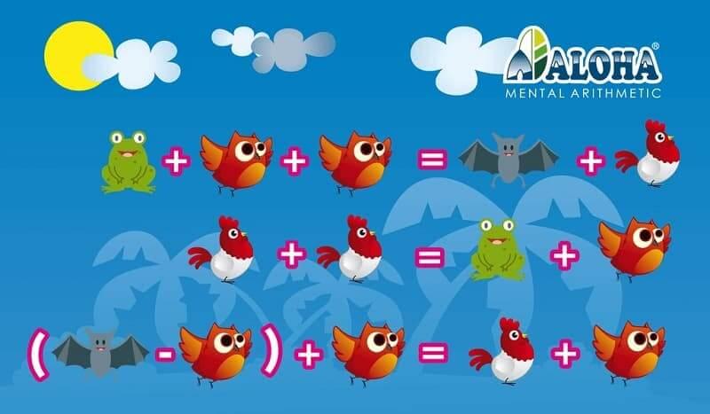 Test lógica matemática para niños